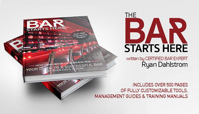 The Bar Starts Here by Ryan Dahlstrom