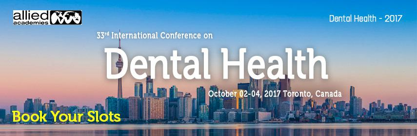 Global experts joining at Dental Health 2017