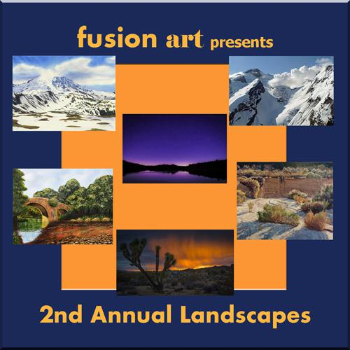 "Fusion Art's 2nd Annual ""Landscapes"" International Online"