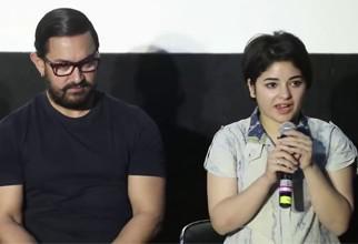 Aamir Khan and Geeta Phogat