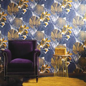 Oxygen Fuji Midnight Wallcovering (OXY005BY)