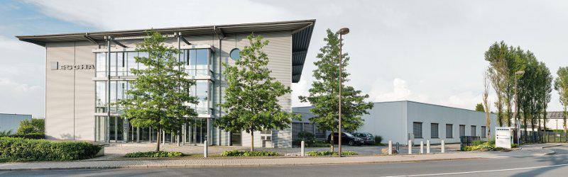 Headquarters of ESCHA GmbH & Co. KG in Halver, Germany