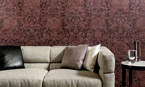 Mahlia Wallcovering in Flowery (MA32550A)