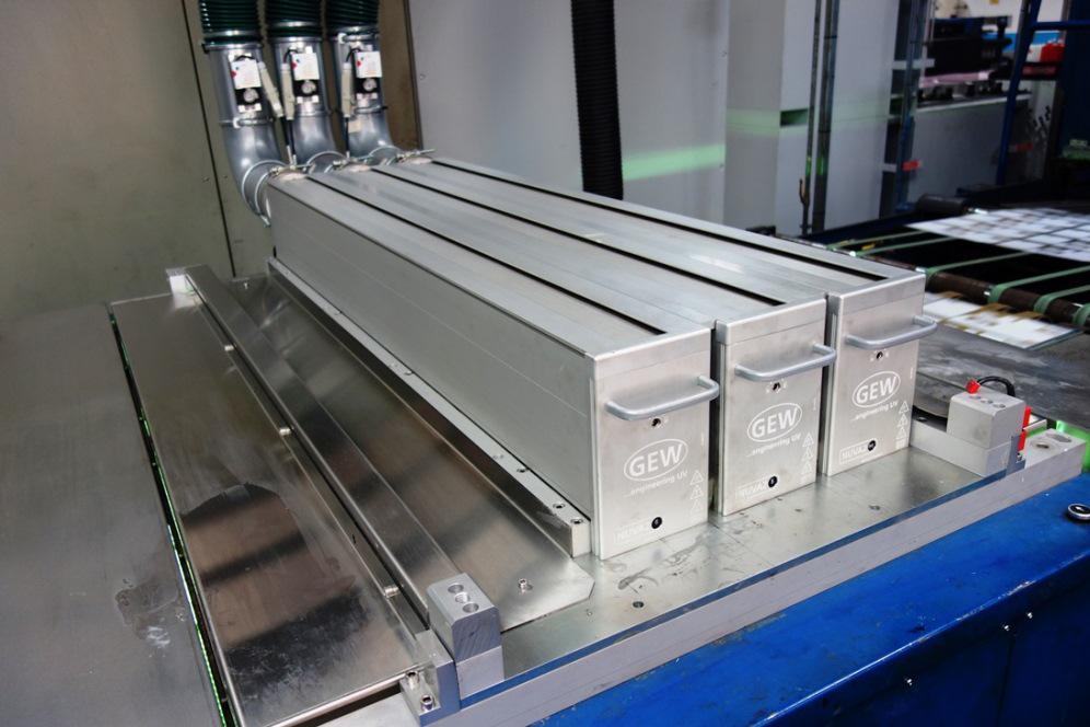 GEW NUVA2 UV system at Caldicot