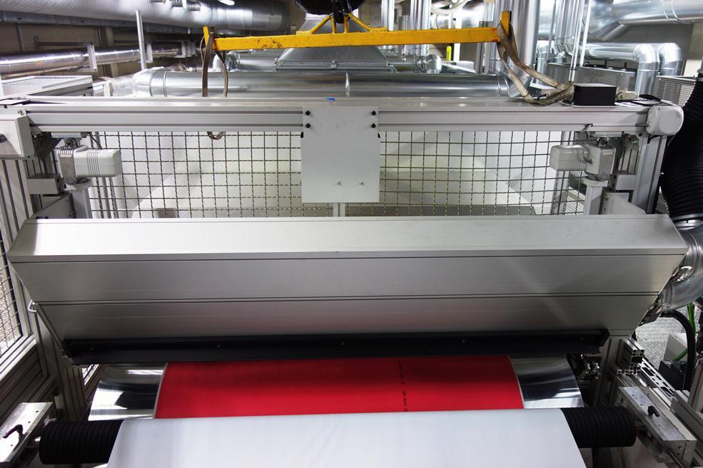 GEW NUVA2 170cm UV system at Folex Cologne