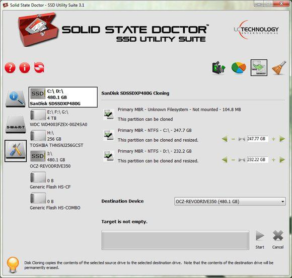 Solid State Doctor SSD Utility Suite