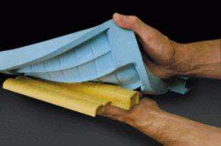 Blue flexible mould making silicone from Momentive