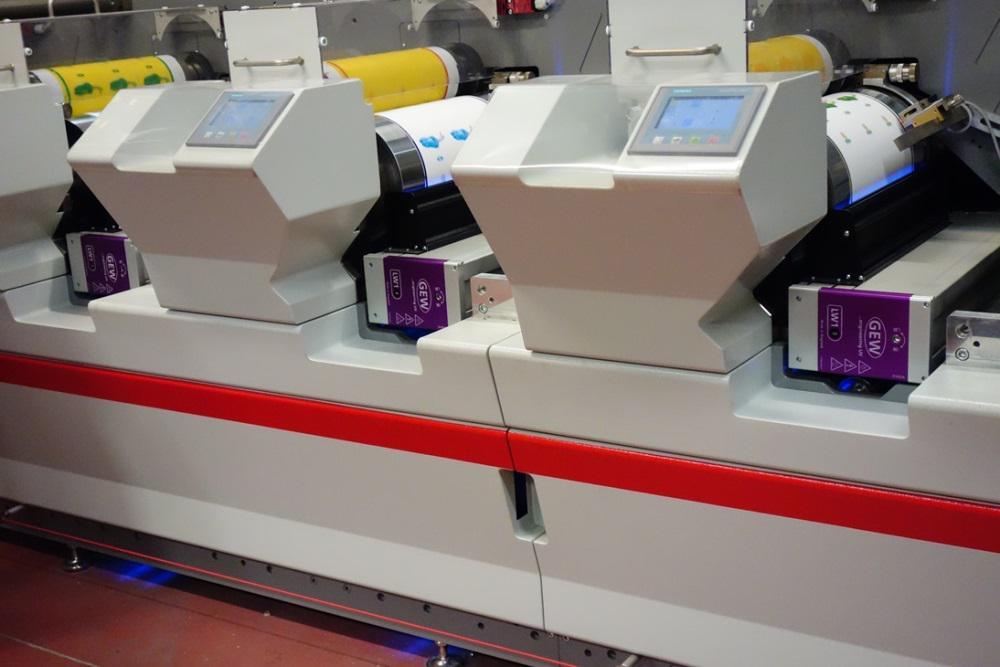 GEW LED UV curing system at Etygraf, Spain