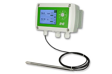 EE310 Humidity and temperature transmitter from E+E Elektronik.