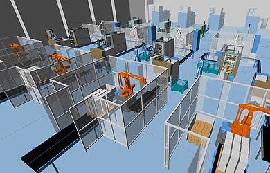 Digital factory as a first step in Industry 4.0