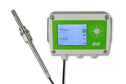EE360 moisture in oil transmitter from E+E Elektronik.