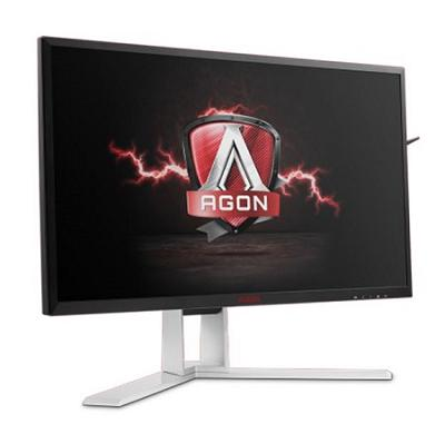 The AGON AGON AG241QG features an ultra-fast TN panel with  1 ms response time and 2560 x 1440 pixel resolution
