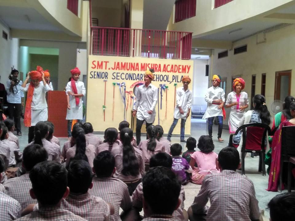 JMA Pilani Celebrates Rajasthan Diwas