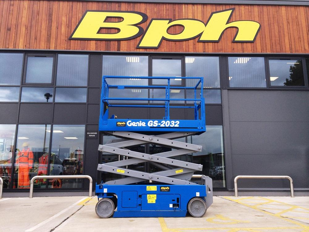 Baker Plant Hire HQ, with GS2032