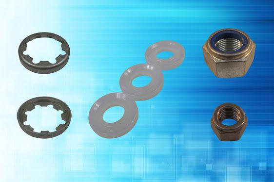 Vibration proof dubo retaining rings, dubo toothed collar rings and traditional self-locking nut solutions from Challenge Europe