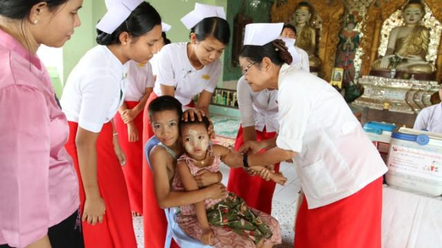 American Red Cross, Myanmar