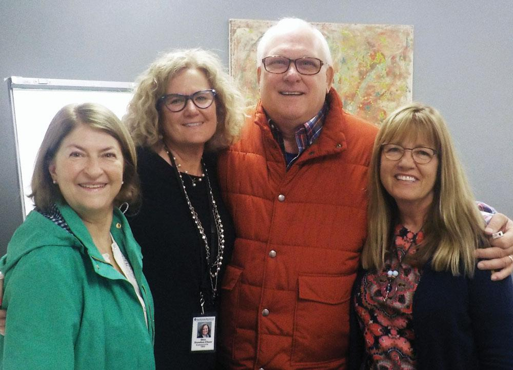 Left to right: Mrs. Mary Jo Kollross, NorthPointe Resources CEO Dina Donohue-Chase, Mr. Mike Kollross and Senator Melinda Bush