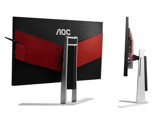 AOC's AGON AG271QG gaming monitor with ergonomic stand