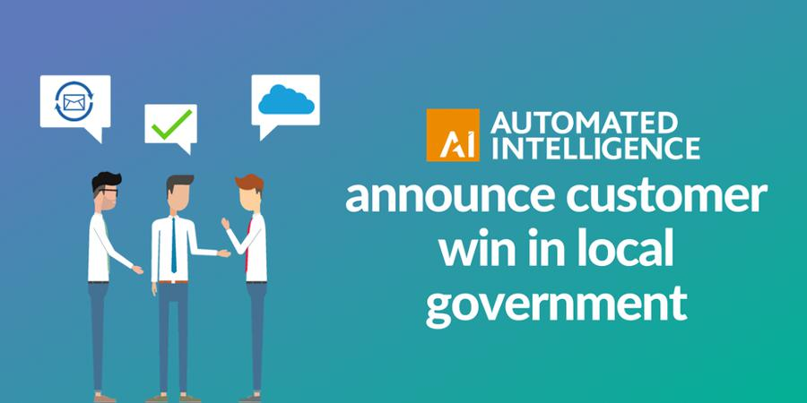 Automated Intelligence announce customer win in local