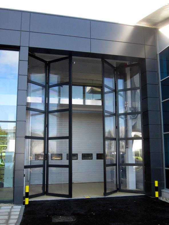 Glazed Swift SEW Doors