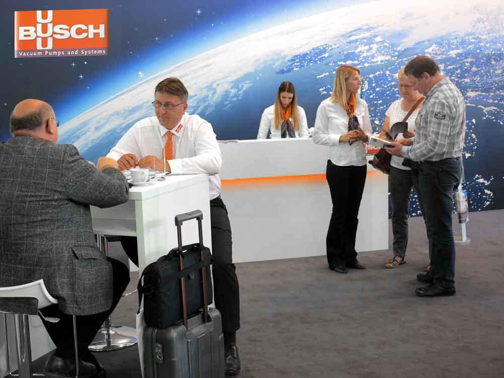 Busch's presentation at ComVac 2017 in Hanover was met with a great response