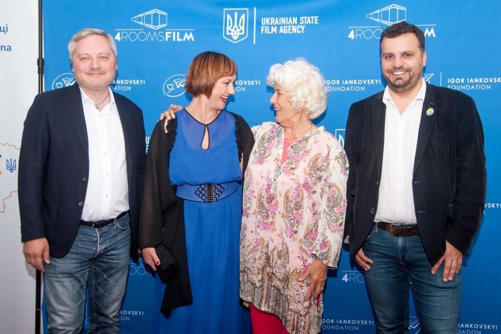 "Igor Iankovskyi Foundation and Ukrainian State Film Agency have succes conducted ""Days of Ukrainian Cinema in Roma?"