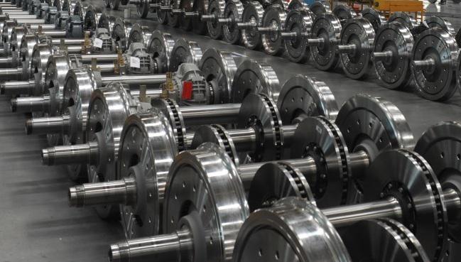 Global Wheels & Axles for Railways Market 2017 - Amsted Rail,