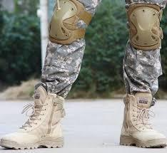 Military Footwear, Apparel and Body Armour