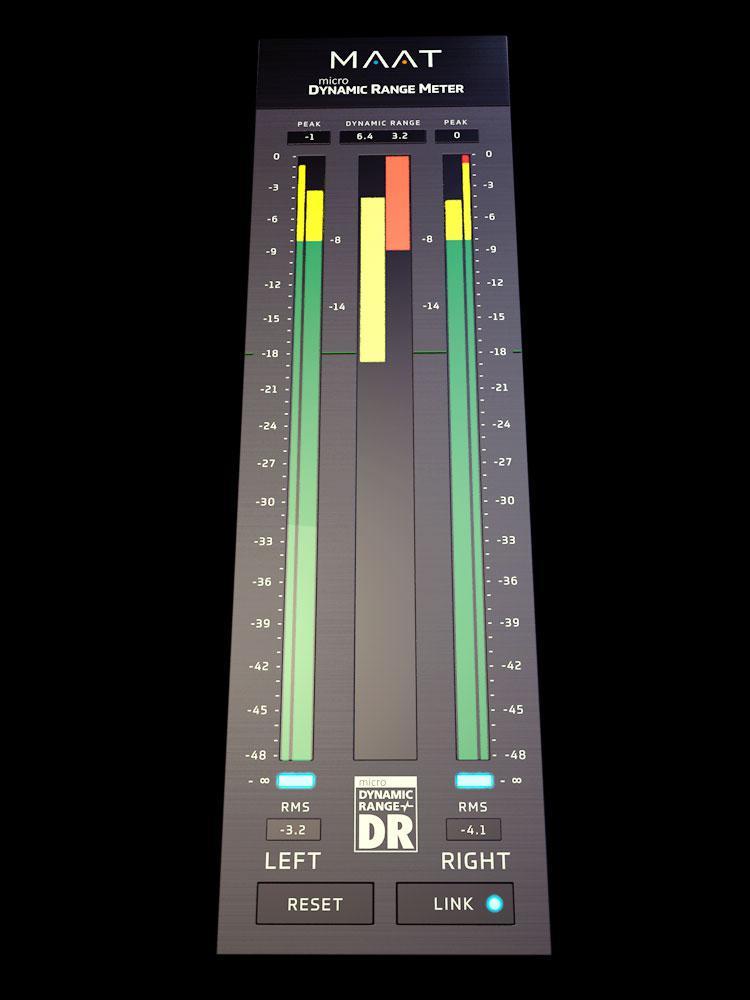 MAAT's Latest -  DRMeter universal plug-in