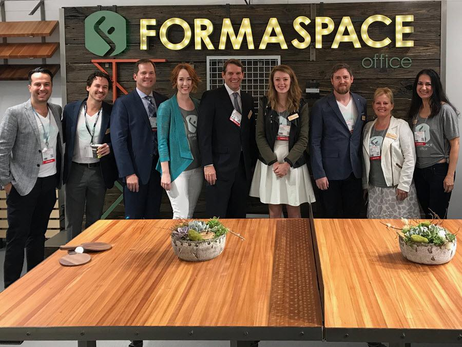 Formaspace Team at NeoCon 2017