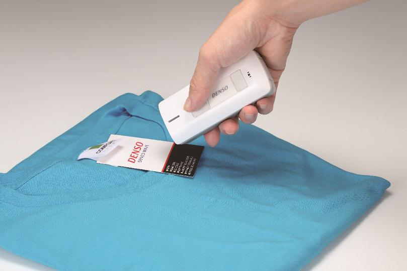 New on the market: DENSO's pocket size scanner with RFID