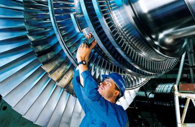 Siemens Germany Steam Engine Turbine Blades
