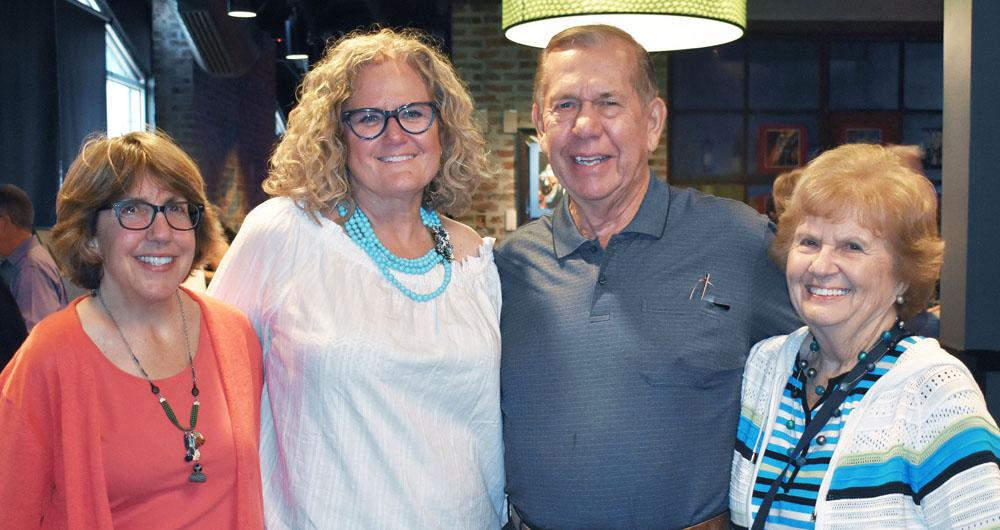 NorthPointe Resources CEO Dina Donohue-Chase with Dr. Beth Marks & family enjoying the lively atmosphere of Blues 'n Brew 2017.
