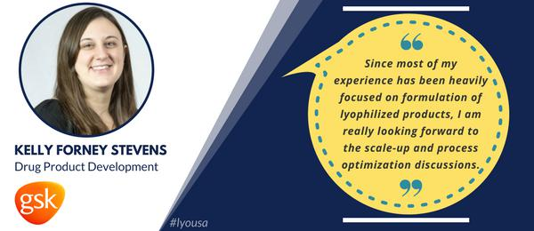 Join Kelly at Lyophilization USA!