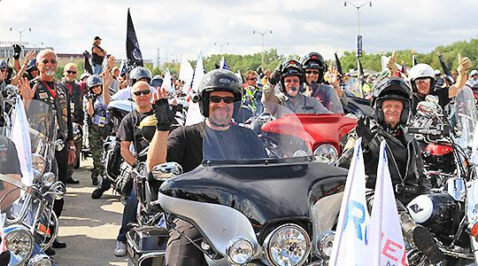 Reuthers Round Trips to the Harley-Davidson 115th Anniversary celebrations in Prague