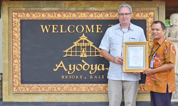 Ayodya Resort Bali: Certified by TUV Rheinland Indonesia