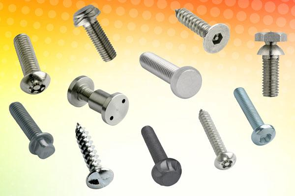 New Hafren range of security fasteners available from Challenge Europe - anti-vandal and anti-tamper screws and nuts