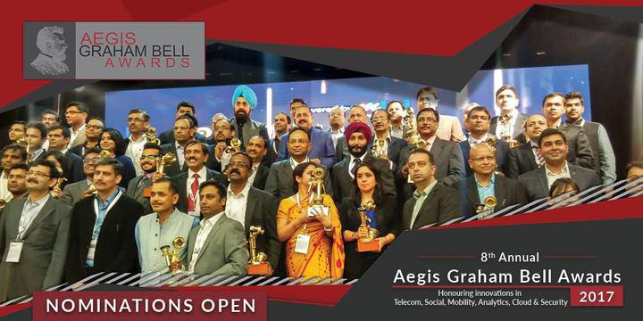 Inviting nominations for 8th Annual Aegis Graham Bell Award 2017