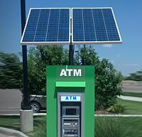 Solar Powered ATM