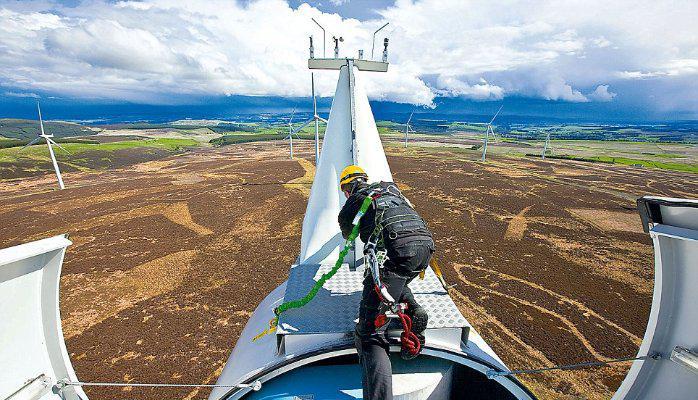 Global Wind Turbine Operations & Maintenance Market 2017 - GE