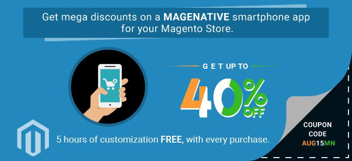MageNative offers up to 40 percent discount to Magento Store