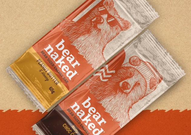 Bear Naked Packaging Design