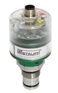 The two-stage contamination indicator of type HI-D024 is maintenance-free and self-monitoring