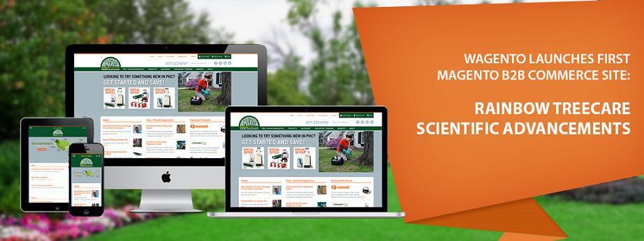 Wagento Launches Rainbow Treecare Website