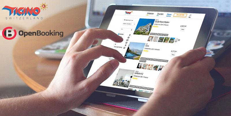 Ticino Tourism responsive metasearch interface