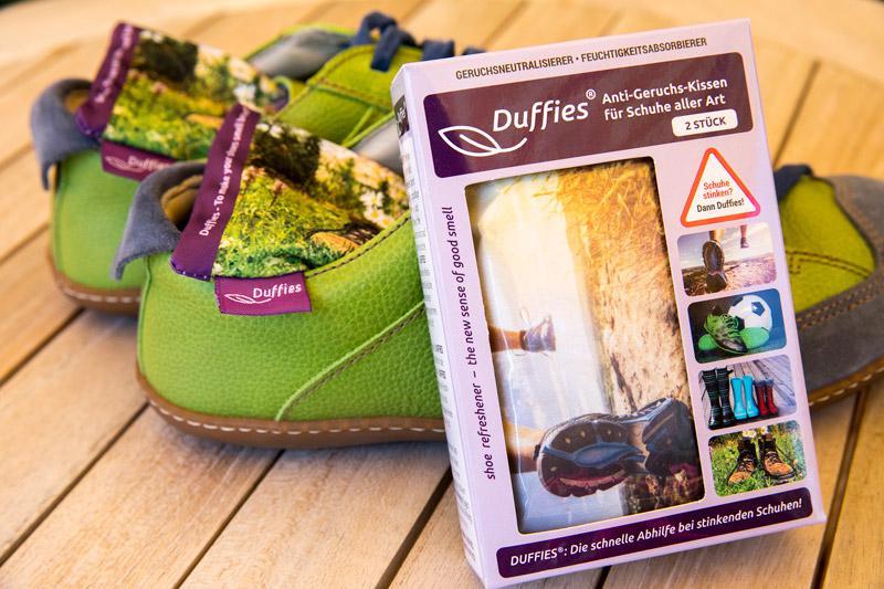 DUFFIES shoe refreshener & odor neutralizer