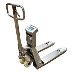 Marsden's first fully waterproof pallet truck scale can be
