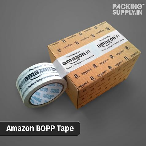 Packing Supply Launches Amazon Branded White BOPP Packing Tapes