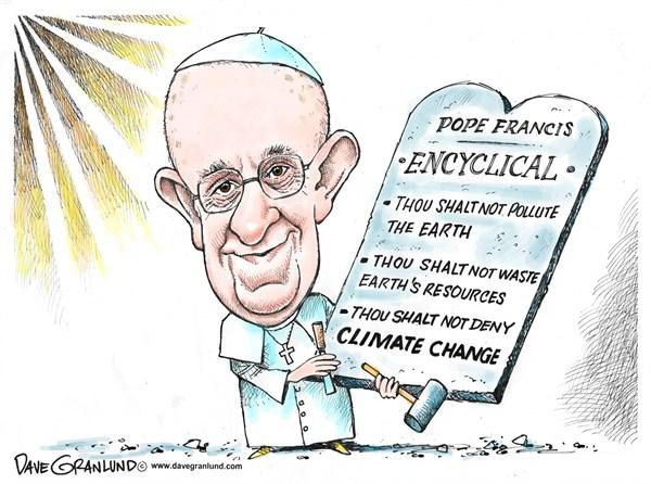 Pope Francis on Global Warming