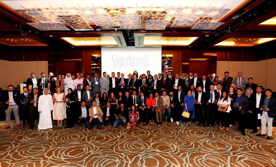 64 Winners of Superbrands UAE 2017